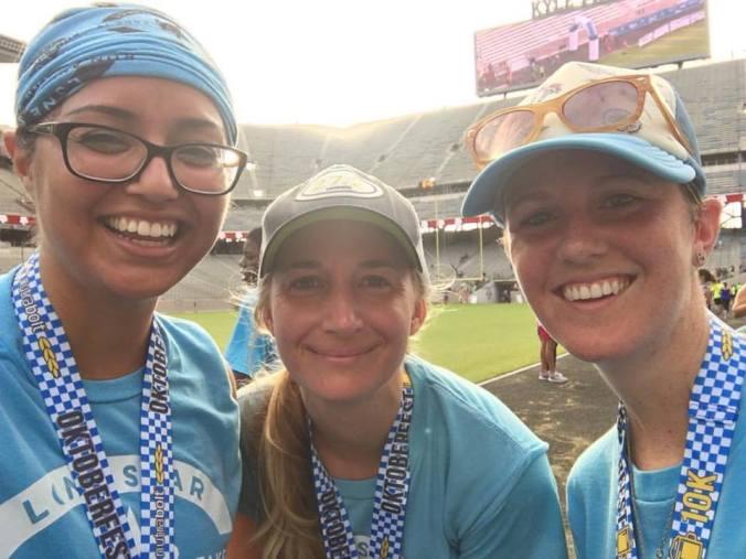 Angelique, Jessica, and I